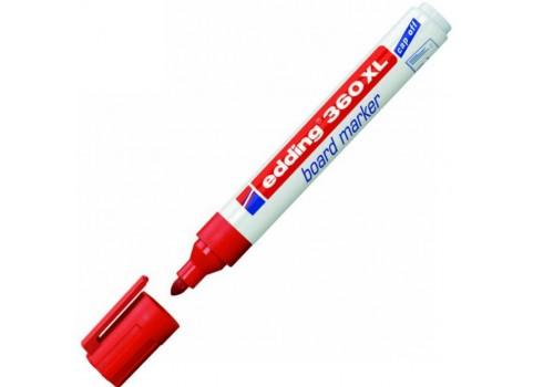 Edding 360 XL Beyaz Yazı Tahtası Kalemi - Kırmızı